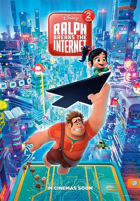 Ralph Breaks The Internet Now Showing Book Tickets Vox Cinemas