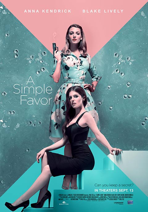 A Simple Favor | Now Showing | Book Tickets | VOX Cinemas UAE