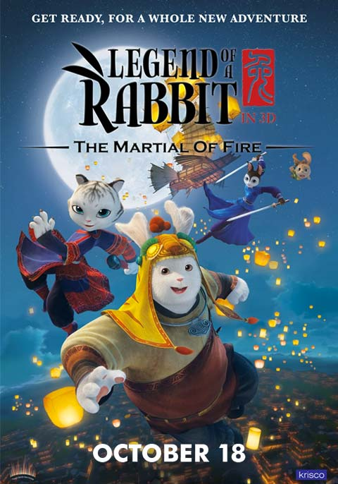 Legend of a Rabbit - The Martial of Fire