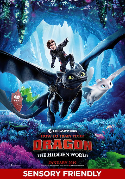 How toTrain Your Dragon-Sensory Friendly Screening