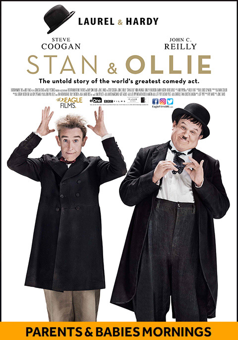 Stan & Ollie-Parents & Babies Mornings
