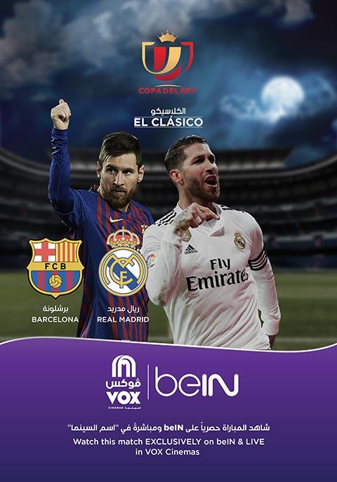 Real Madrid VS Barcelona 2019