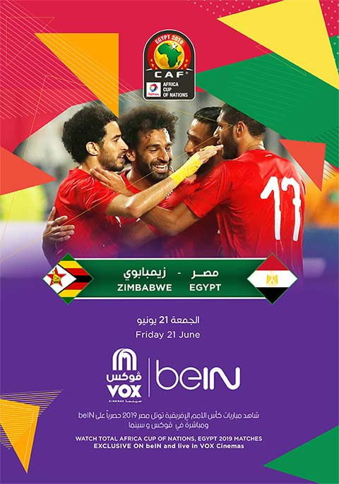Afcon: Egypt VS Zimbabwe-2019 [Arabic]
