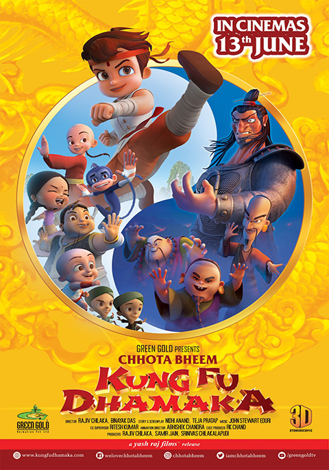 Chhota Bheem : Kung Fu Dhamaka