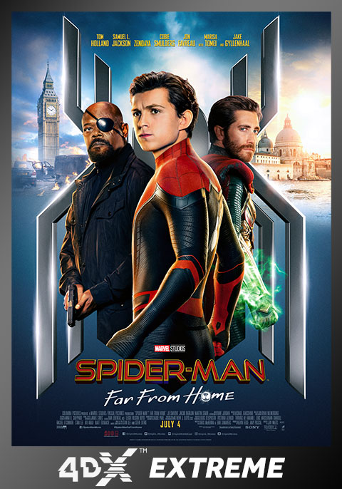 Spider-Man: Far From Home- 4DX Extreme Version