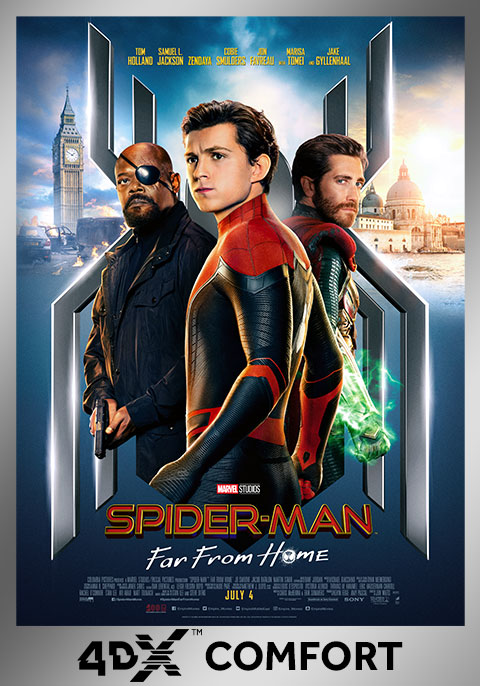 Spider-Man: Far From Home- 4DX Comfort Version