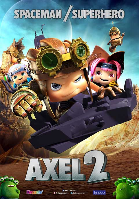Axel 2: Adventures of the Space Kids