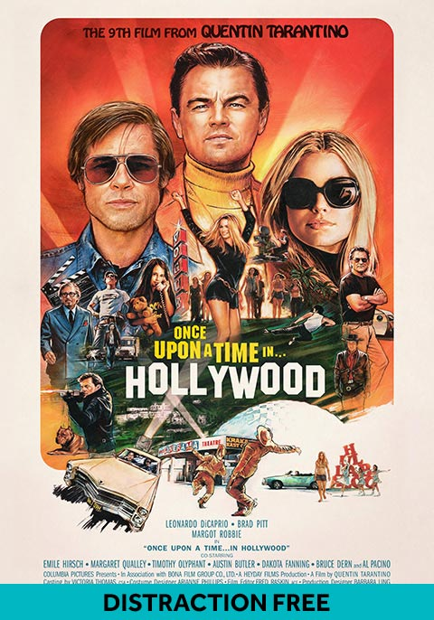 Once Upon A Time in Hollywood (Distraction Free)