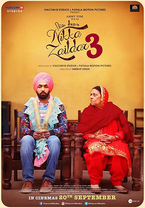 Nikka Zaildar 3 [Punjabi]
