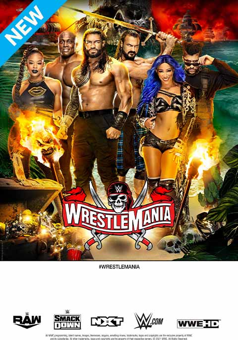 Wrestlemania 2021 -WWE Live Event