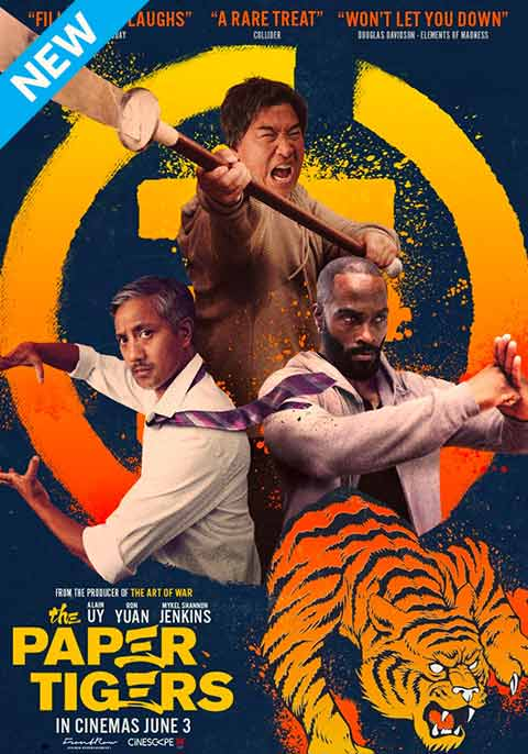 Paper Tiger (2020) Full Movie [In English] With Hindi Subtitles | WebRip 720p [1XBET]
