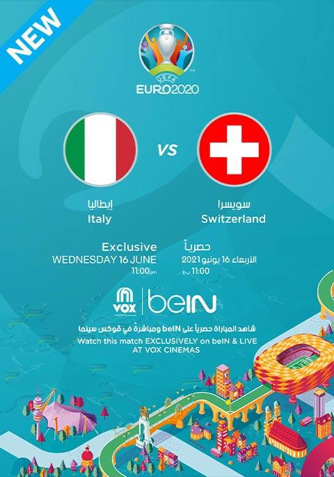UEFA EURO 2020: Italy vs Switzerland [Arabic]