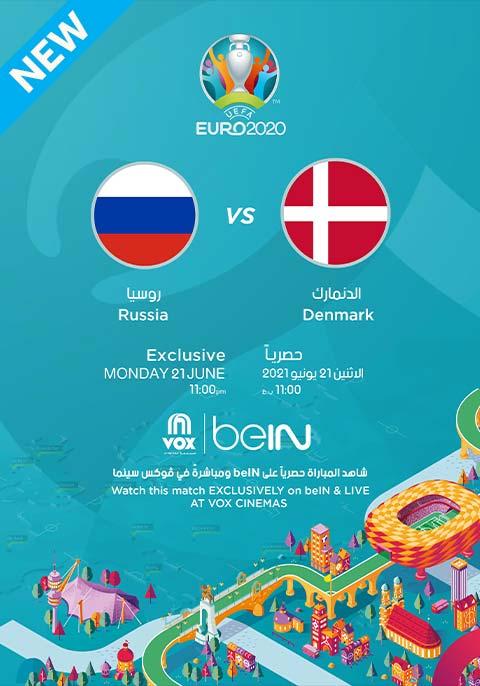UEFA EURO 2020: Russia vs Denmark[Arabic]